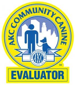 AKC Community Canine Evaluator Badge