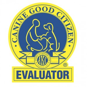 Canine Good Citizen Evaluator Badge